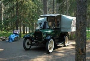 Ford model T Tent