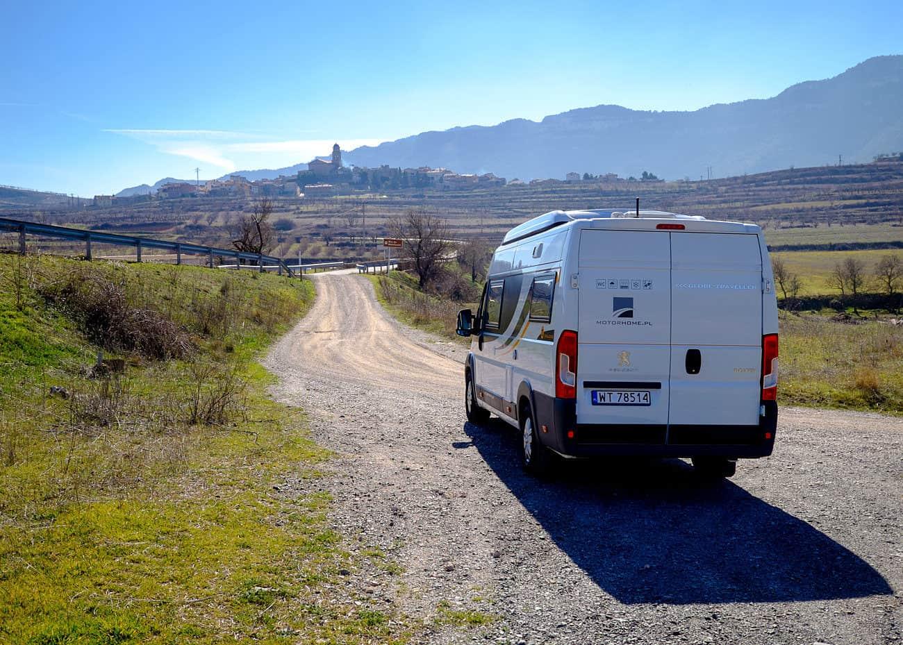 Hiszpania Kamperem | Wypożyczalnia kamperów