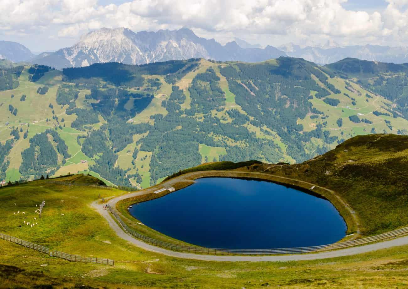 Okolice Saalbach Austria Kamperem | Wypożyczalnia kamperów