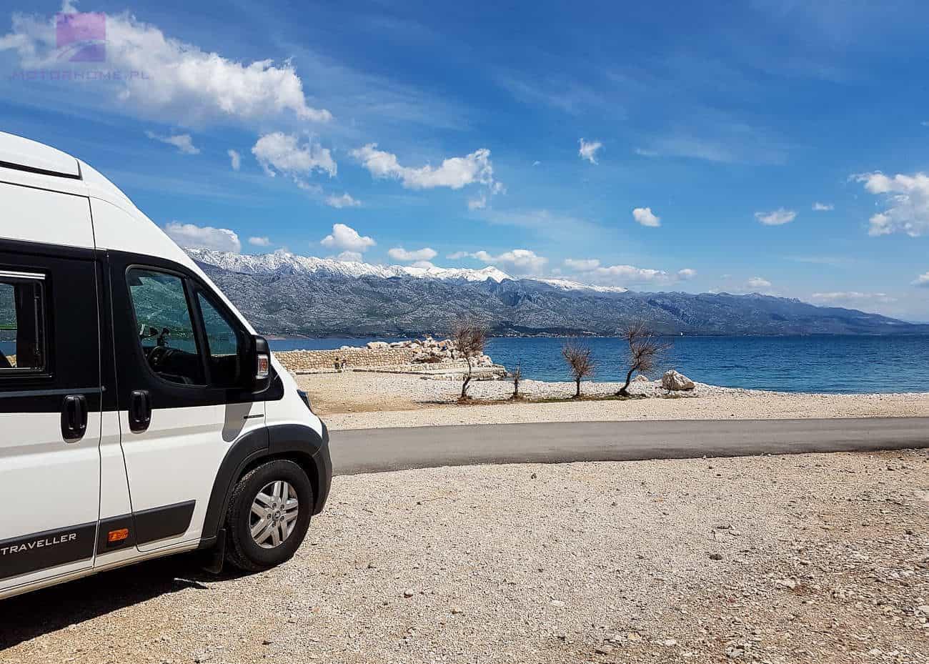 Kamperem do Chorwacji | Wypożyczalnia Kamperów motorhome.pl