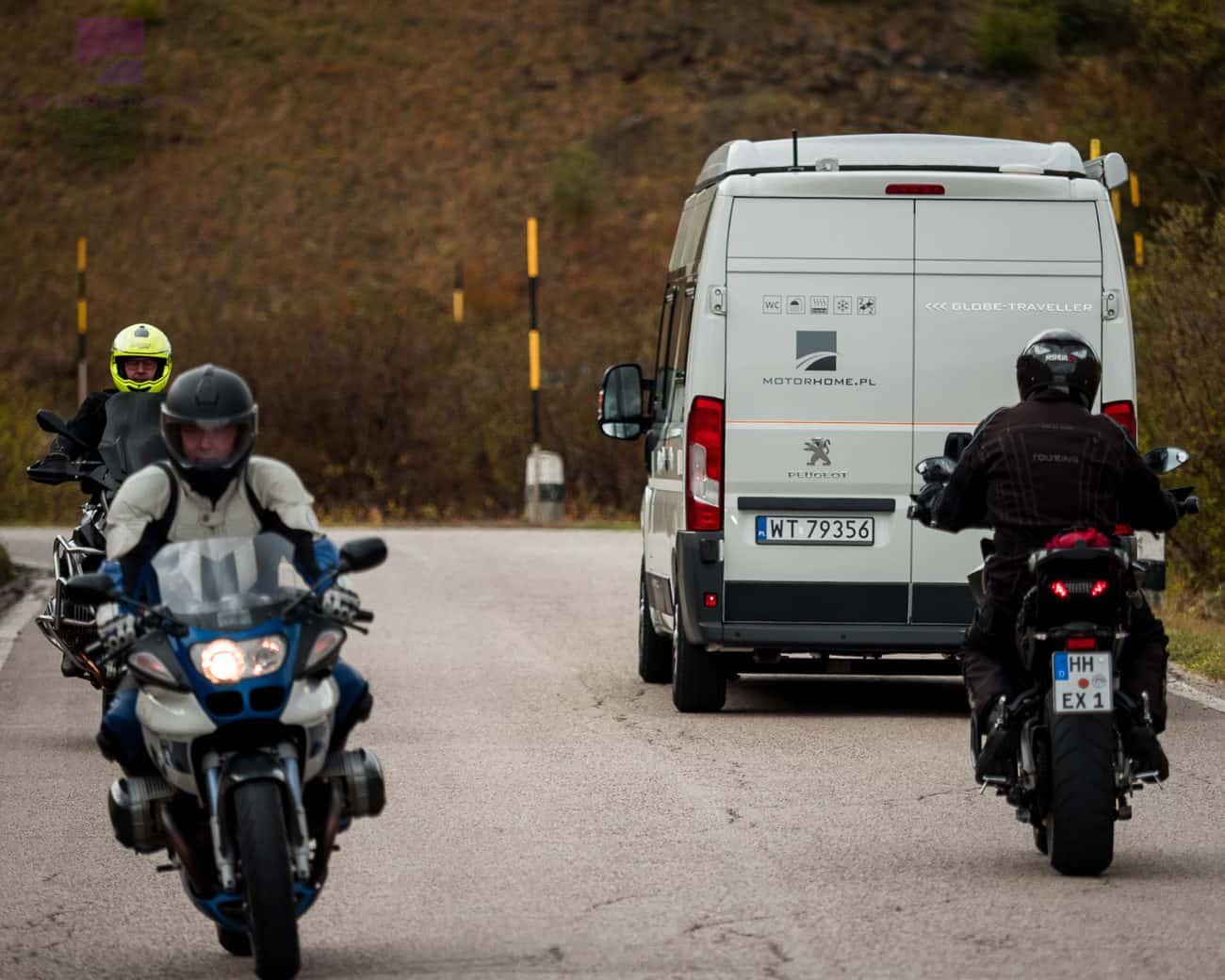 Kamperem do Włoch - Passo Pordoi