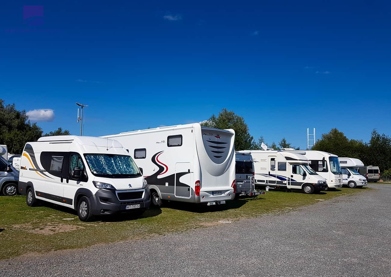 Pierwszy raz Kamperem do Niemiec