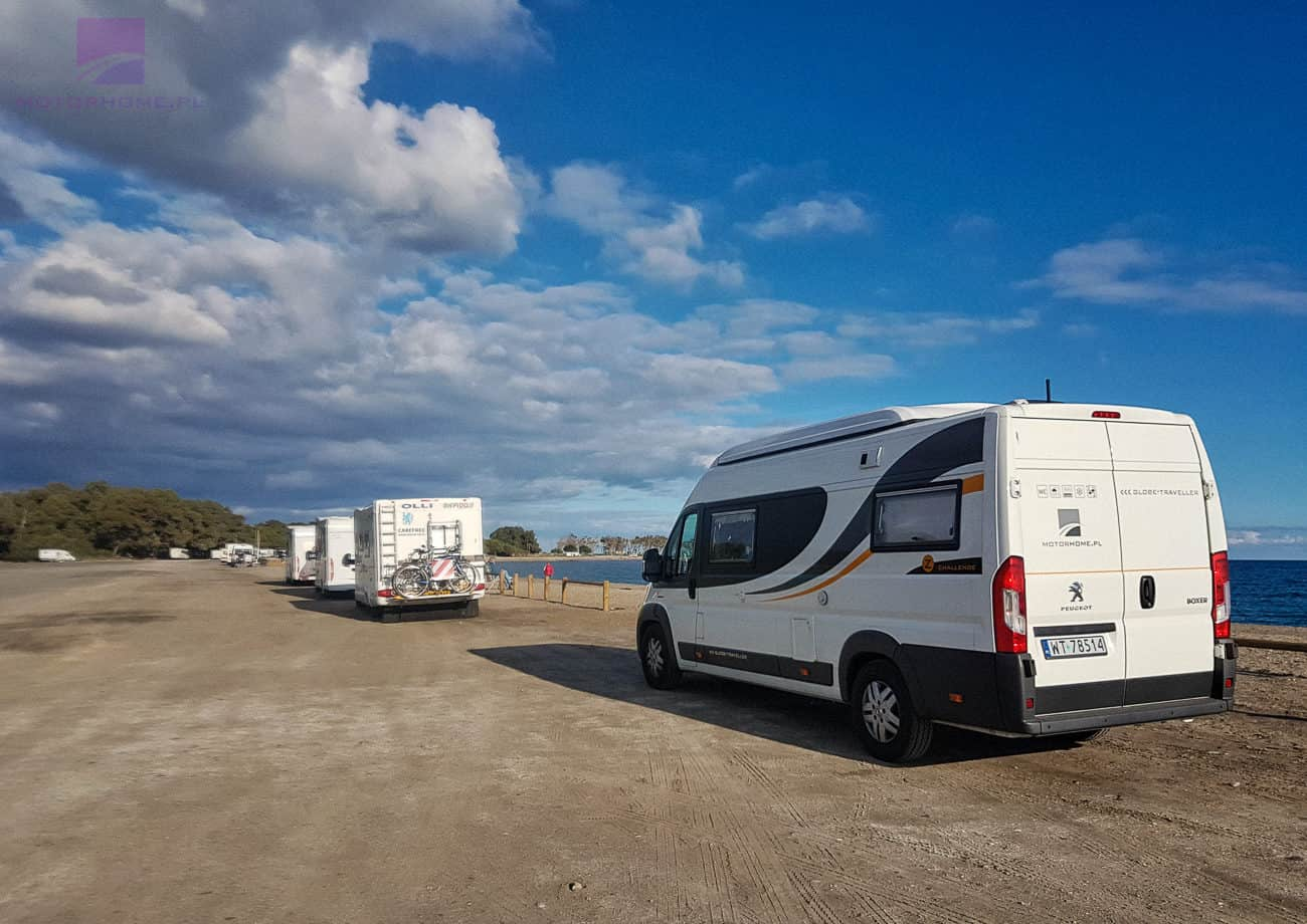 Kamperem do Hiszpanii - Andaluzja