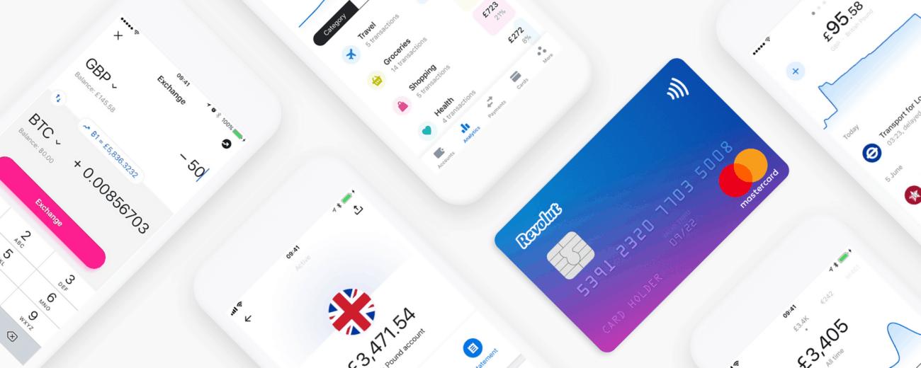 Karta Revolut - płatności za granicą