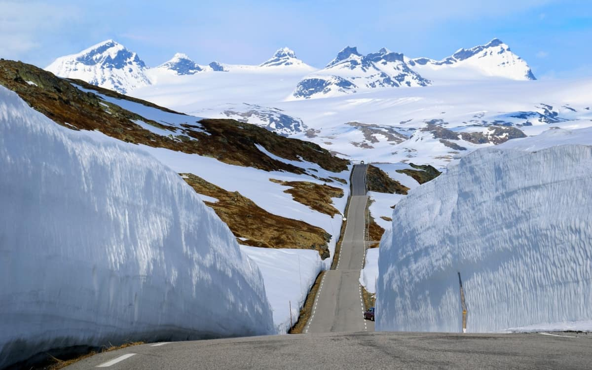 The Sognefjellet Mountain Road