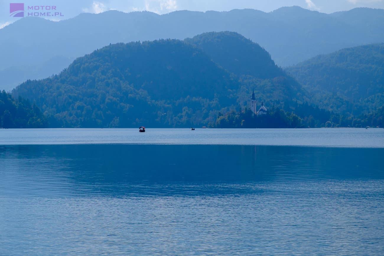 Słowenia kamperem - Jezioro Bled