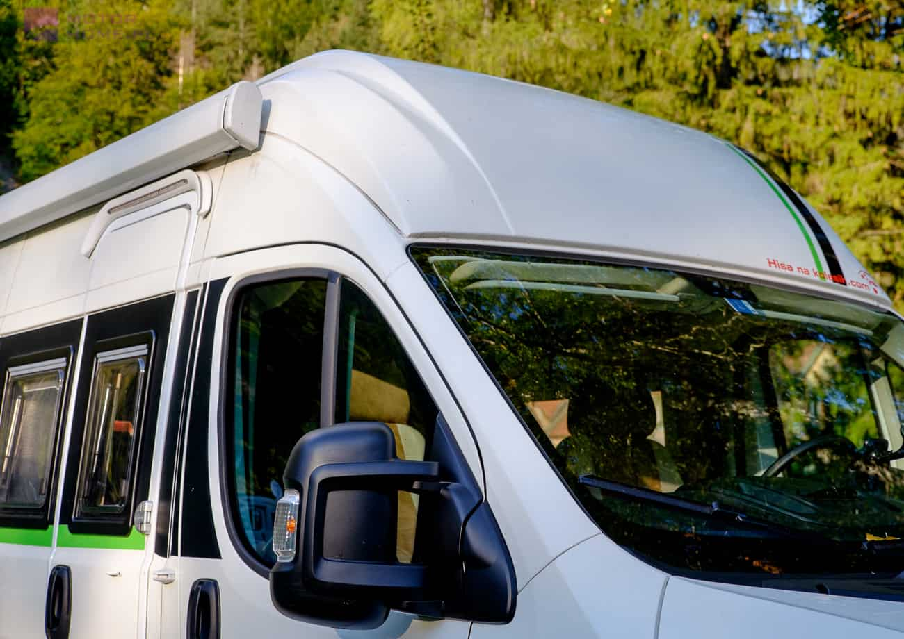 Inspire Camper - podniesiony dach