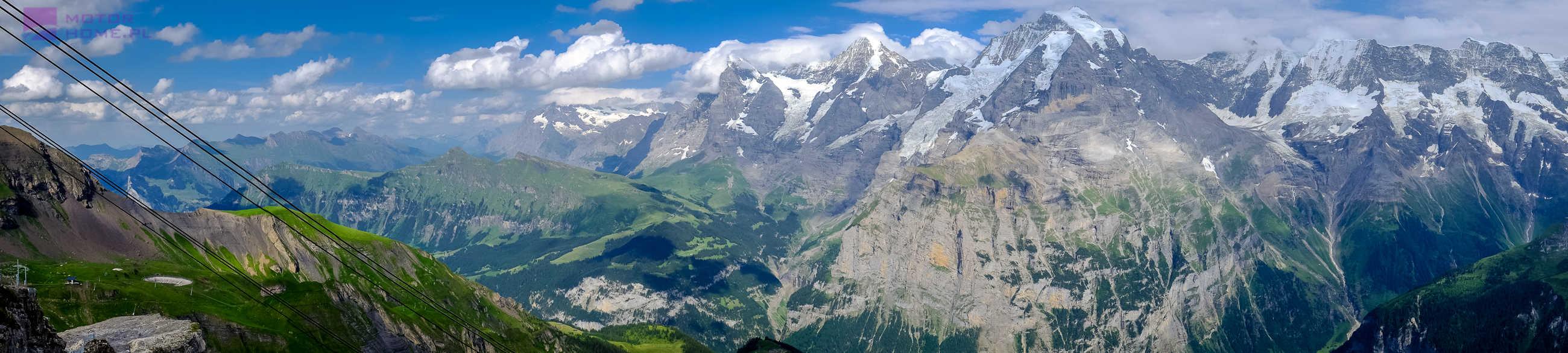 Szwajcaria kamperem