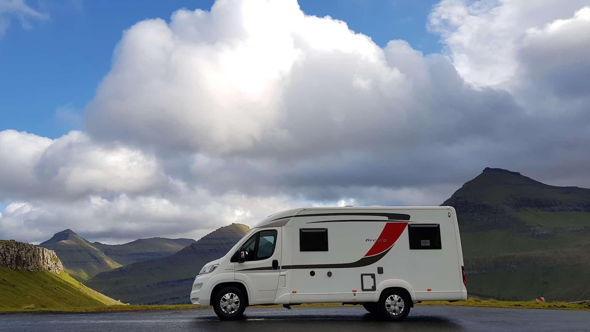 Wyspy Owcze - Kamper