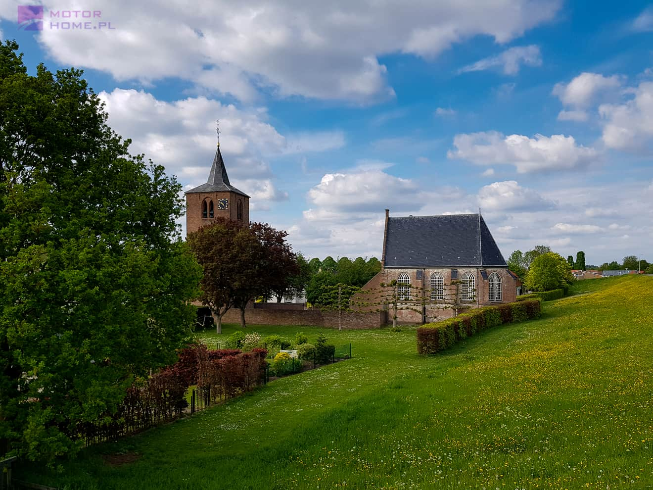 Kamperem do Holandii