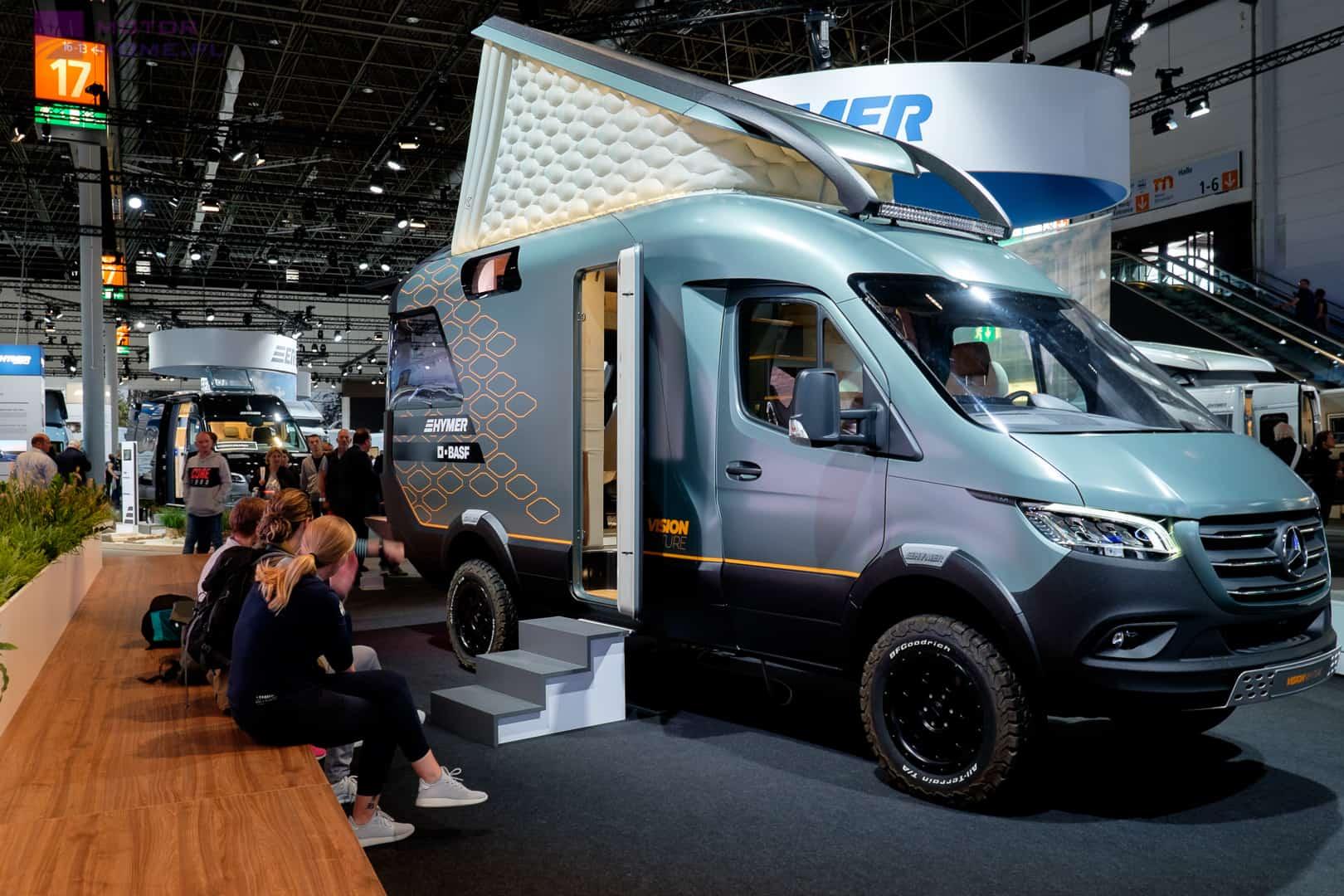 HYMER BASF at Caravan Salon 2019