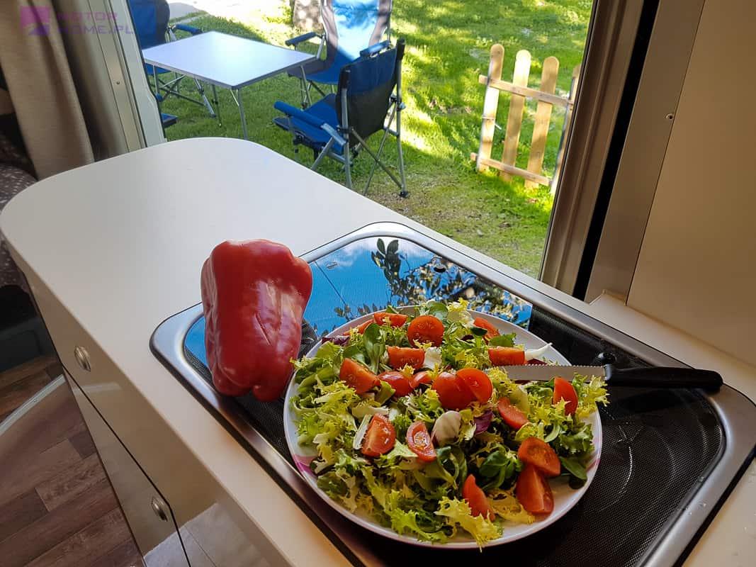 Kamperem do lasu - gotowanie