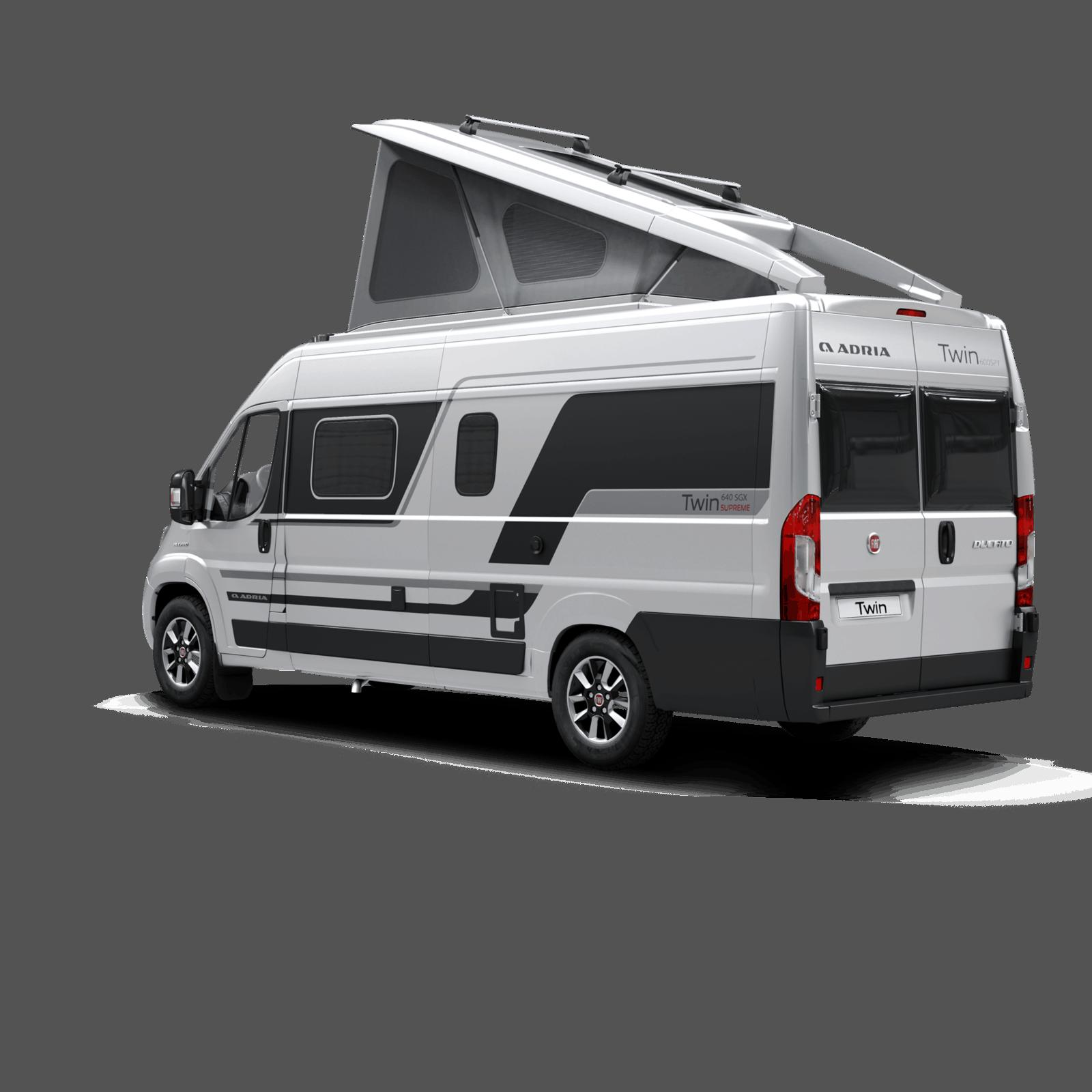 Adria Twin 640 SGX Nowość Caravan Salon