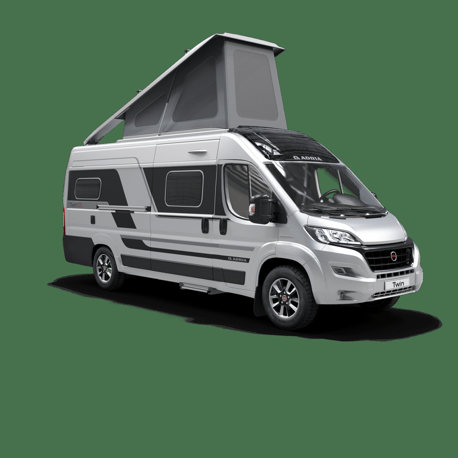 Adria Twin 640 SGX - nowość Caravan Salon