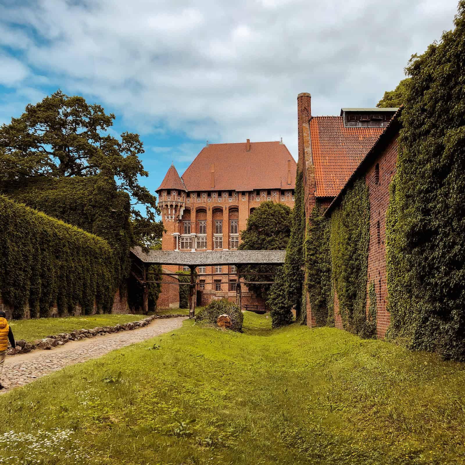 Zamek w Malborku - kamperem po Polsce