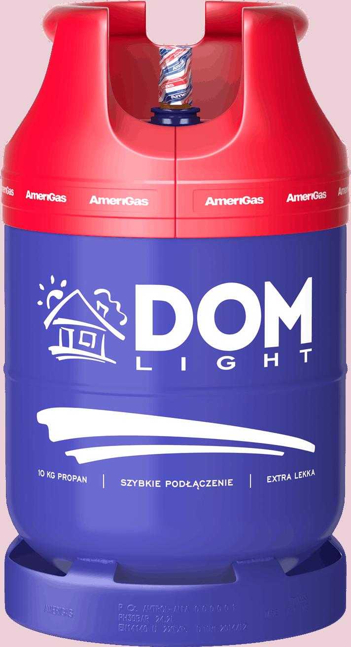 Ogrzewanie kampera gazem - butla DomLight