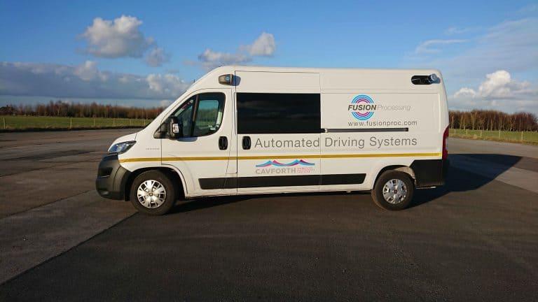 Autonomiczny Fiat Ducato
