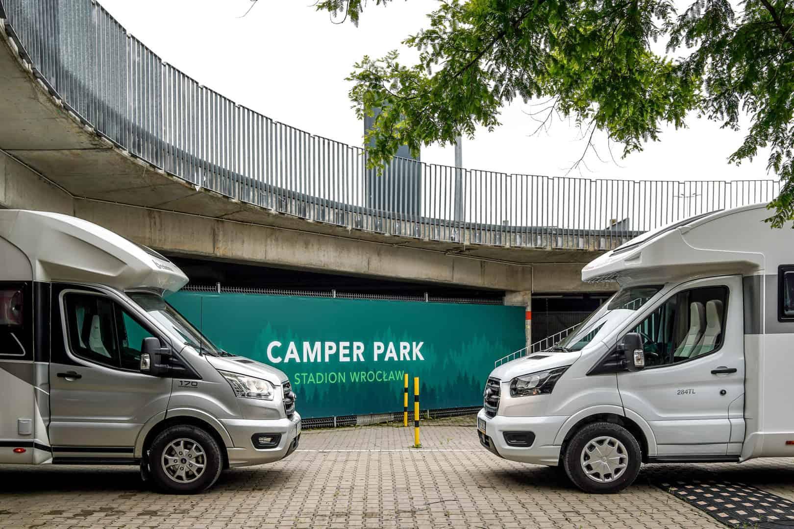 Parking dla kamperów Wrocław Camper Park
