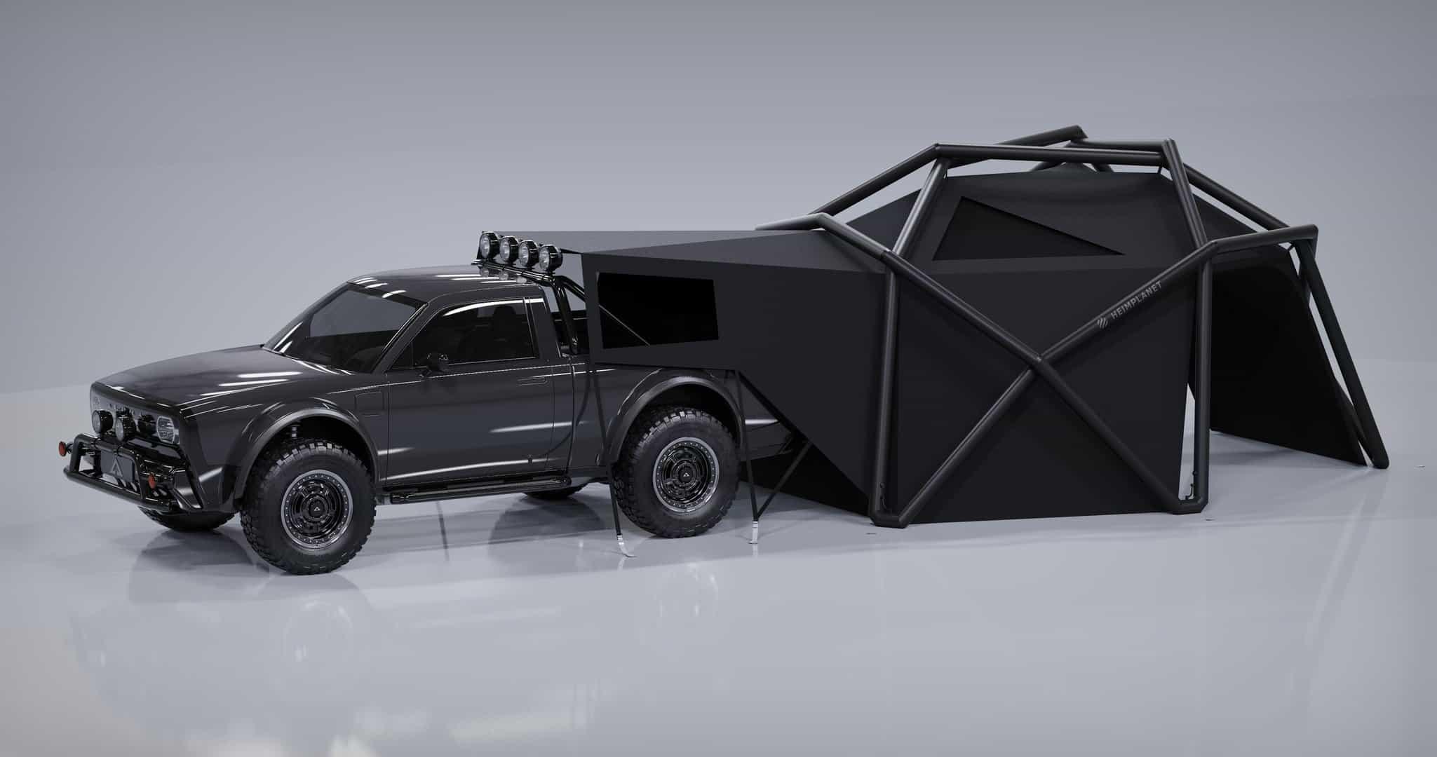 Kamper namiotowy AMC x Heimplanet Cloudbreak