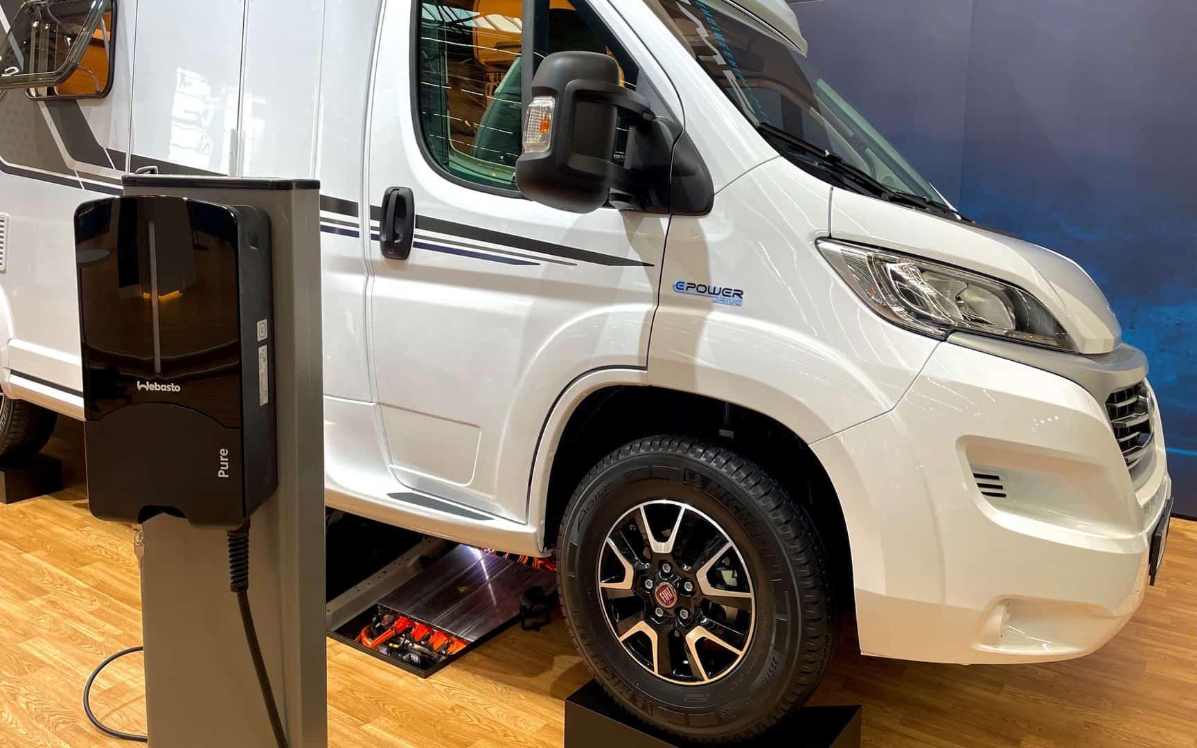 Caravan Salon 2021 - Elektryczny Knaus